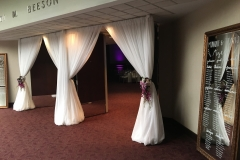 Beeson-Hall-Entrance-Drapery-Wedding-Reception