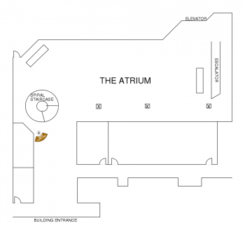 The Harbert Center Atrium Diagram