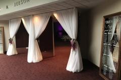 Beeson-Hall-Entrance-Drapery-Wedding-Reception