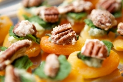 Apricot Pecan Blue Cheese Bites