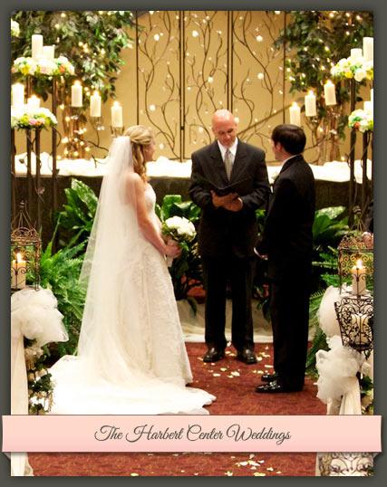 Enter The Harbert Center Weddings Web Site