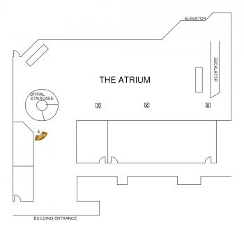 The Harbert Center Atrium Diagram